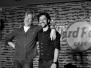 Chris Barron und Thomas Ian Nicholas am 08.04.2011 im Hard Rock Cafe
