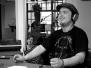 Lari von Lari und die Pausenmusik am 23.04.14 bei strassen|feger Radio